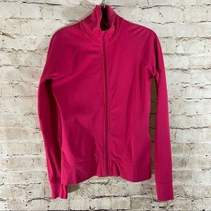 H&M Pink full zip track jacket size 10